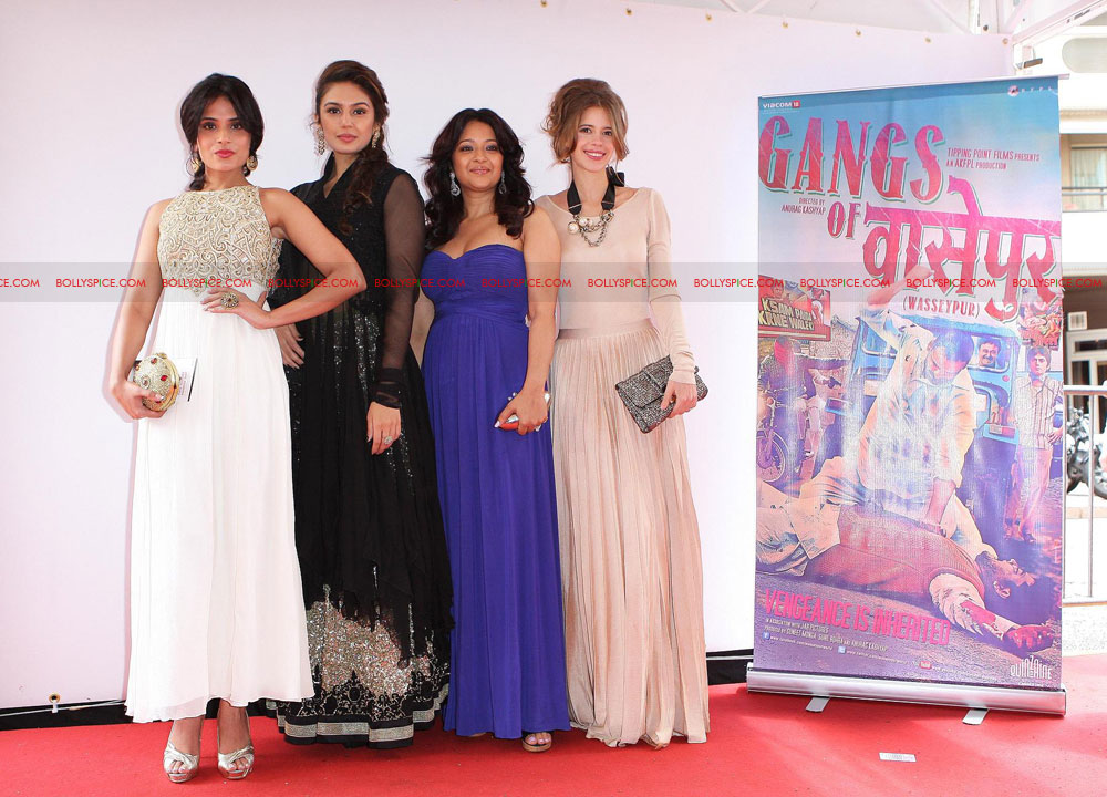 12may GoW Cannes02 Gangs of Wasseypur at Cannes!