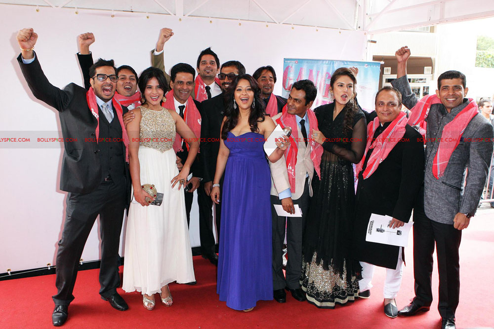 12may GoW Cannes04 Gangs of Wasseypur at Cannes!