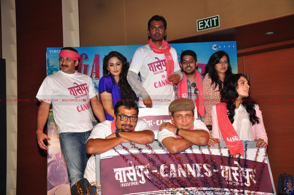 12may GoWpresscon11 Gangs of Wasseypur press conference