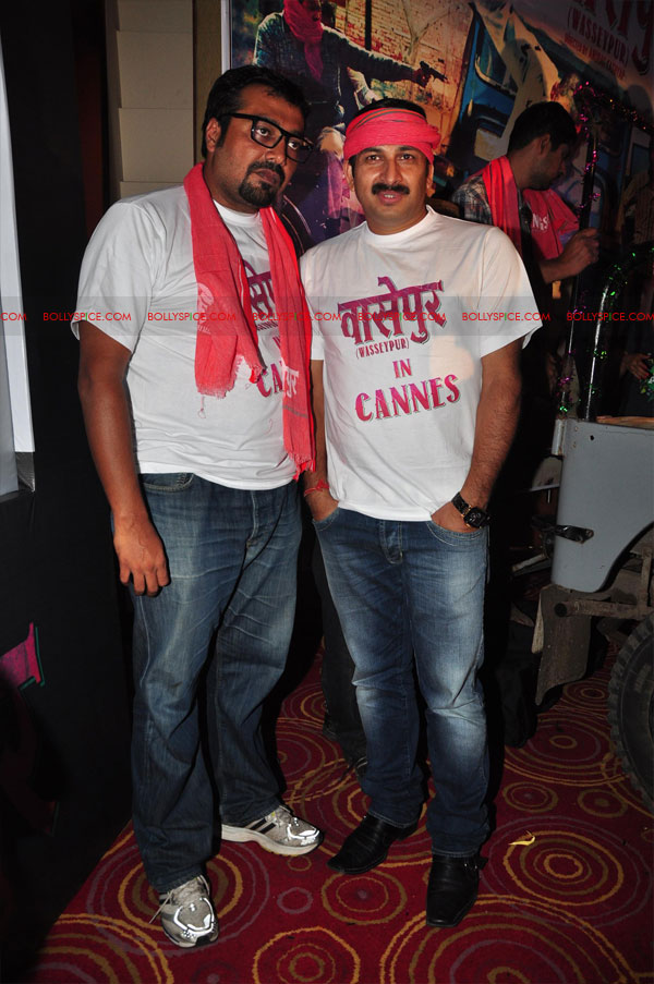 12may GoWpresscon13 Gangs of Wasseypur press conference