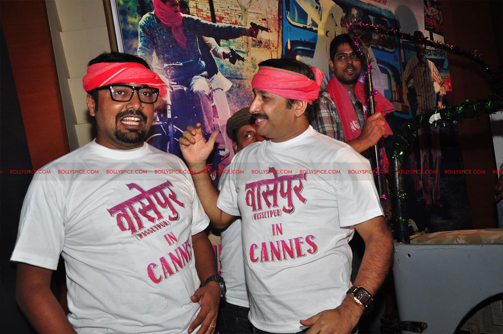 12may GoWpresscon14 Gangs of Wasseypur press conference