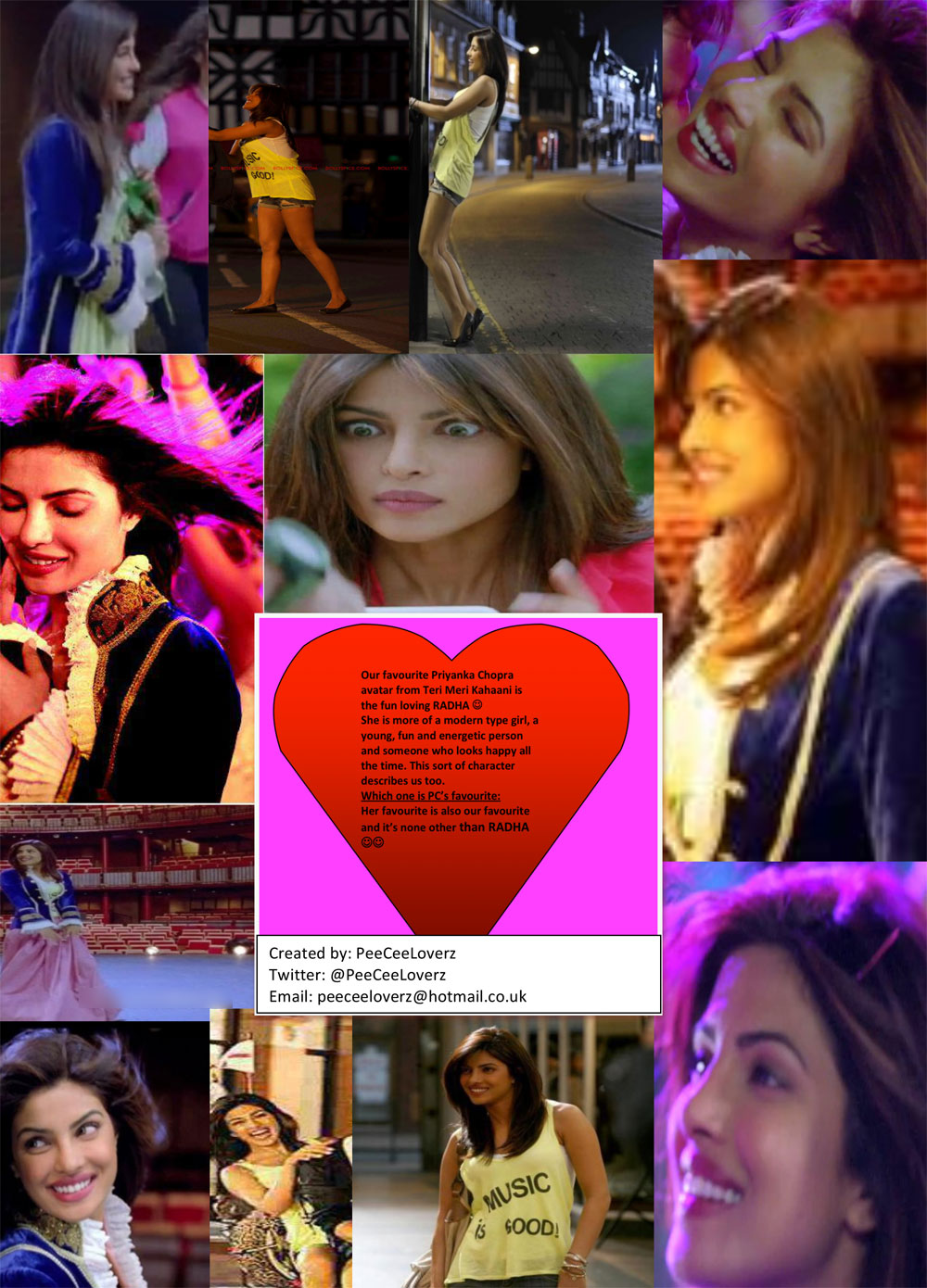 12may PC Radha entry Is it Priyanka as Radha, Rukhsar or Aradhna in Teri Meri Kahaani that fans love? Find out!