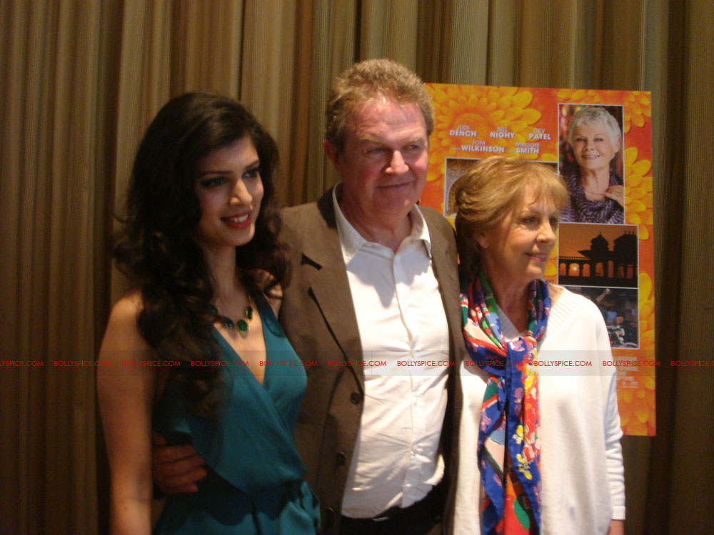 12may TBEMHpressconfNY01 Special Report: The Best Exotic Marigold Hotel New York Press Conference