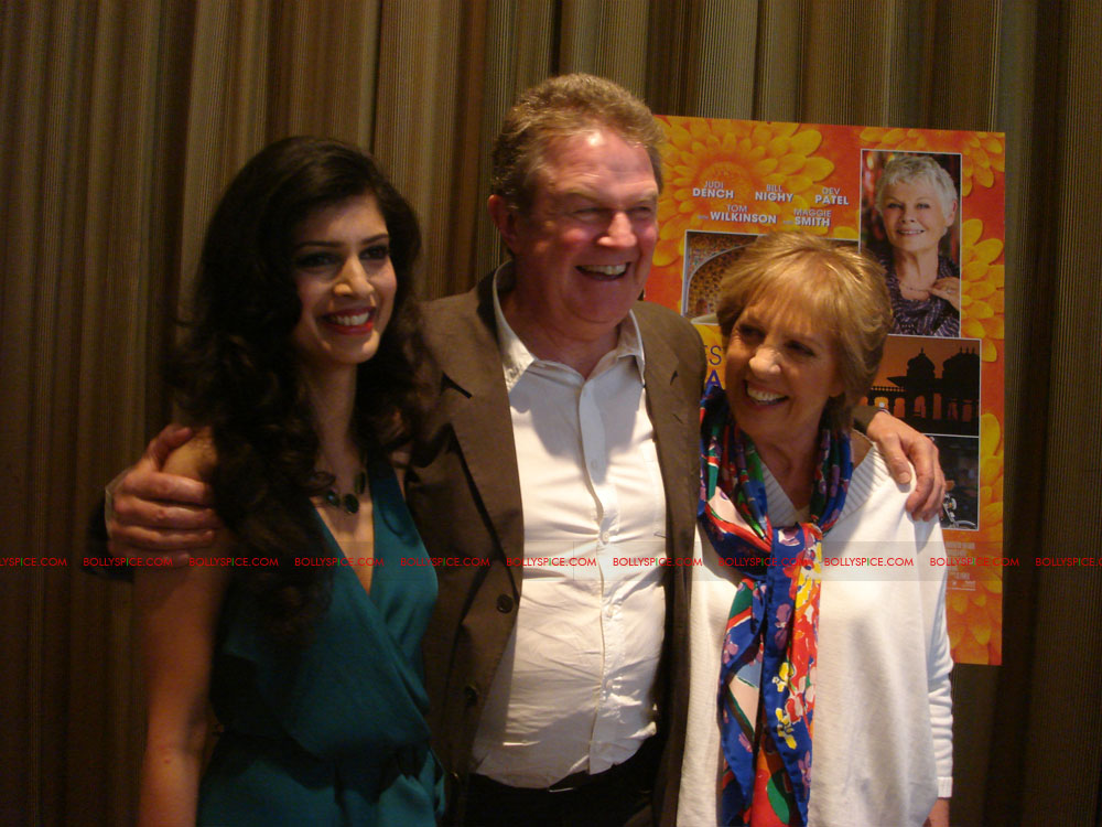 12may TBEMHpressconfNY02 Special Report: The Best Exotic Marigold Hotel New York Press Conference