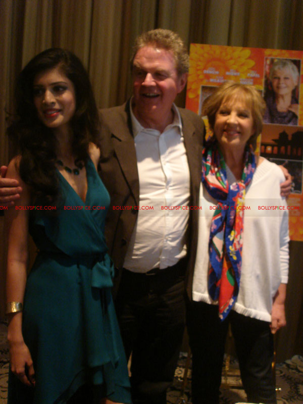 12may TBEMHpressconfNY03 Special Report: The Best Exotic Marigold Hotel New York Press Conference