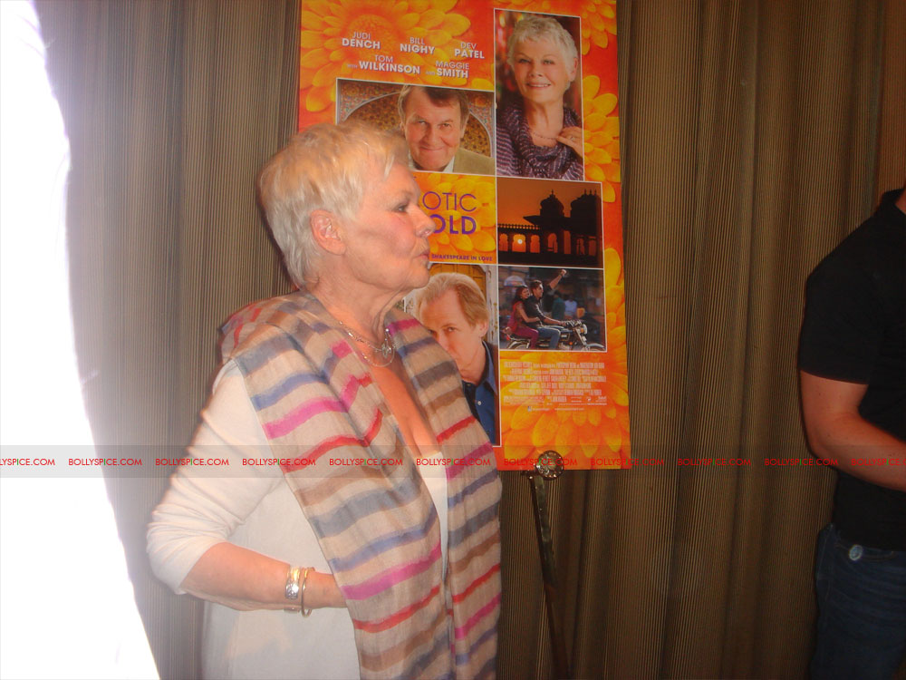 12may TBEMHpressconfNY04 Special Report: The Best Exotic Marigold Hotel New York Press Conference