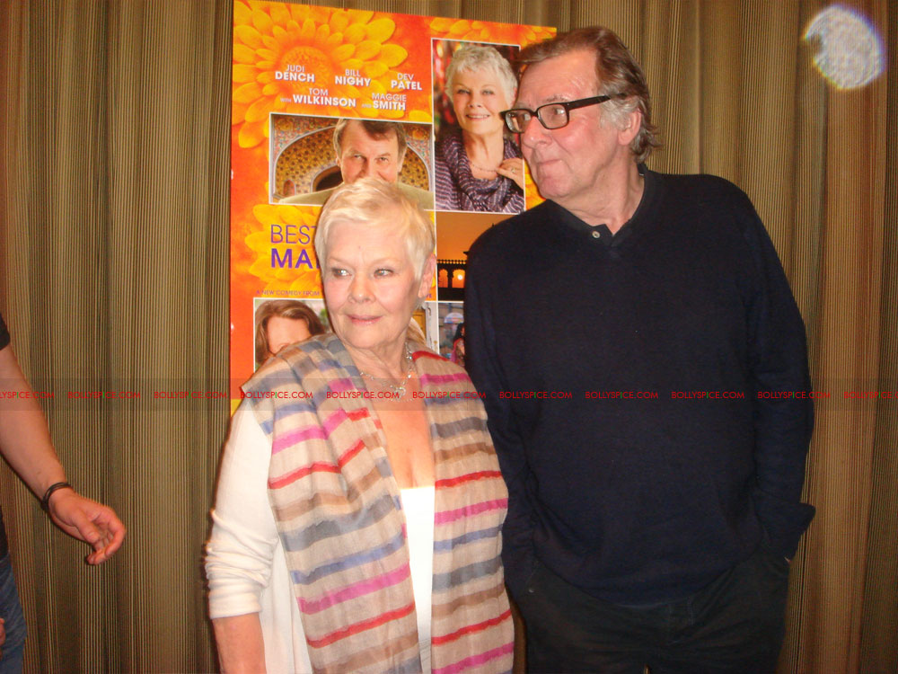 12may TBEMHpressconfNY07 Special Report: The Best Exotic Marigold Hotel New York Press Conference