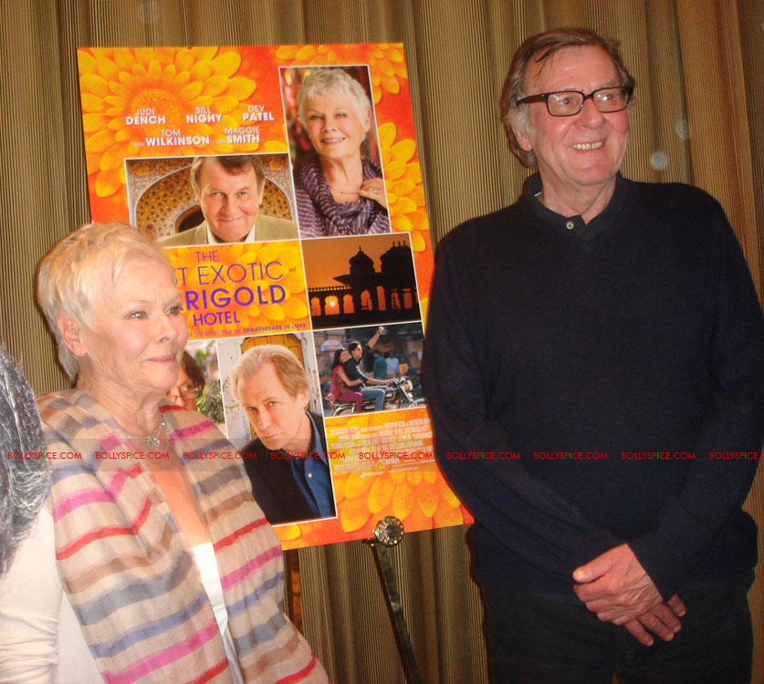 12may TBEMHpressconfNY08 Special Report: The Best Exotic Marigold Hotel New York Press Conference