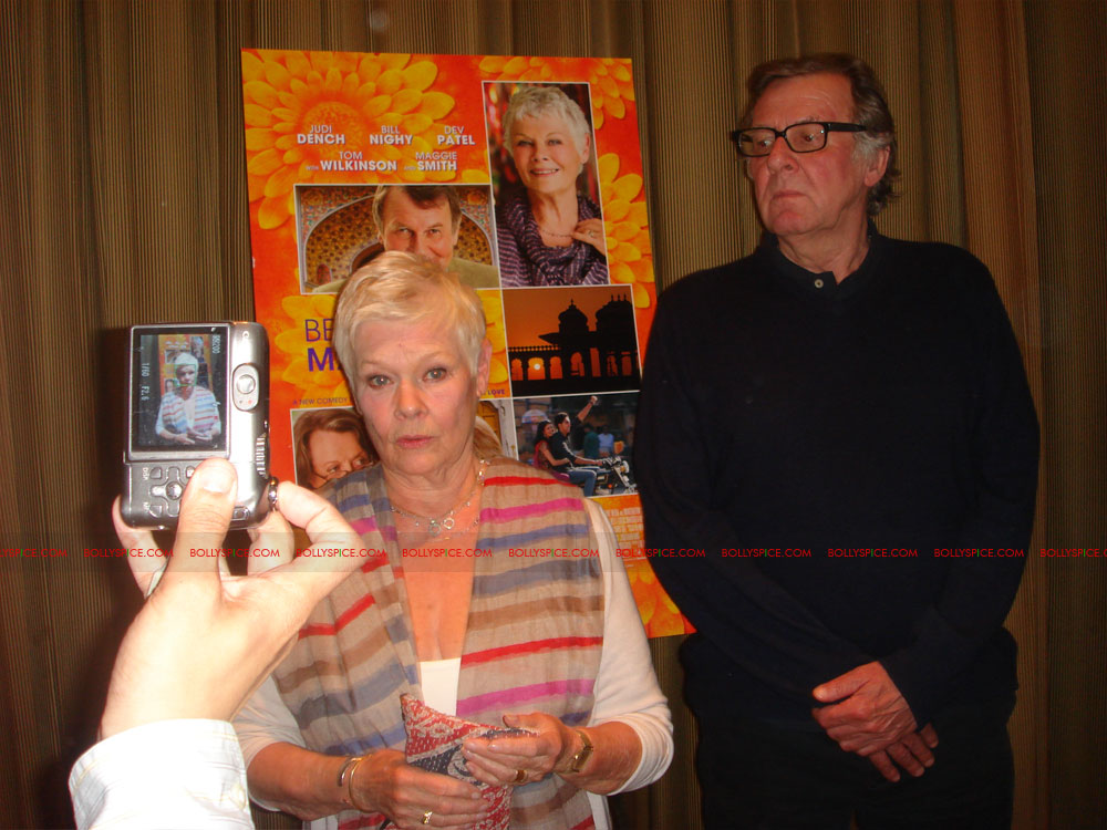 12may TBEMHpressconfNY09 Special Report: The Best Exotic Marigold Hotel New York Press Conference