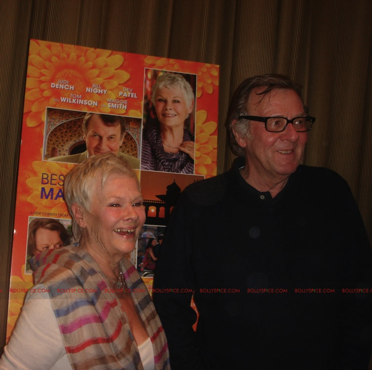 12may TBEMHpressconfNY11 Special Report: The Best Exotic Marigold Hotel New York Press Conference