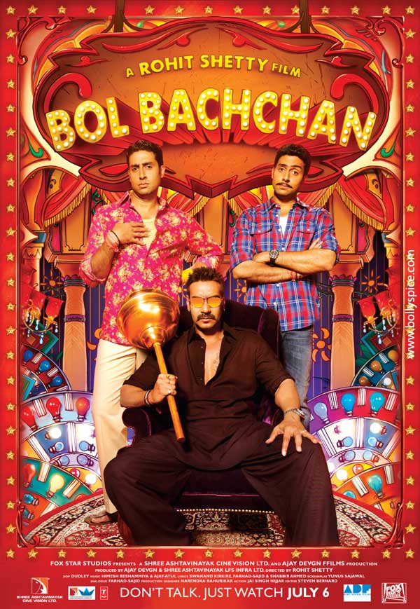 12may bolbachchan 1stposter First Look: Bol Bachchan