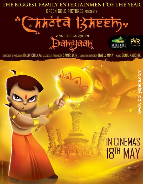 12may chota bheem poster01 Chhota Bheem and the Curse of Damyaan