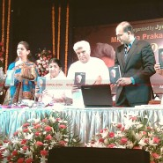 12may javed booklaunch14 185x185 Javed Akhtar's bestselling book 'Tarkash' launched in Marathi by Lataji