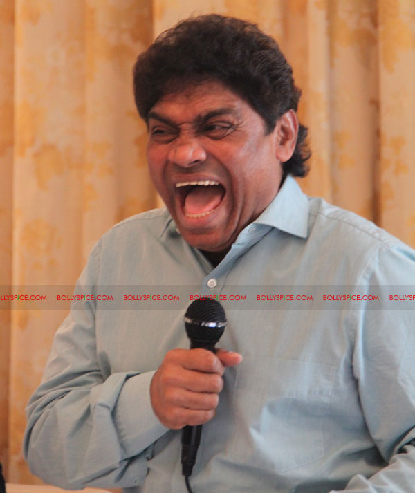 "12may johnyleverintrvw02 ""My face does not suit serious acting!""   Johny Lever"