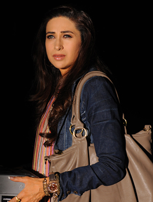 12may karishma intrvw DI02 The film has a lovely gripping story and never before has there been a woman centric 3D film.   Karisma Kapoor