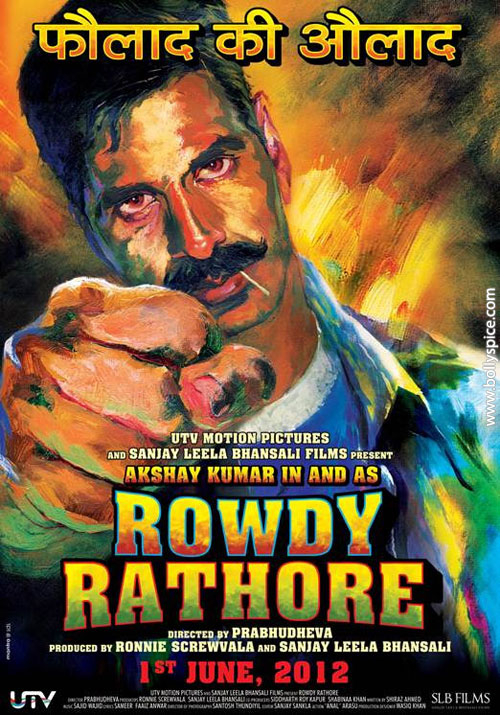 12may moreonrowdyrathore02 More on the story of Akshay Kumars Rowdy Rathore!