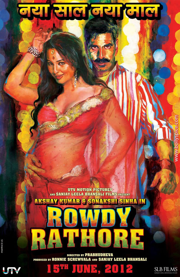 12may rowdy rathore music Rowdy Rathore Music Review