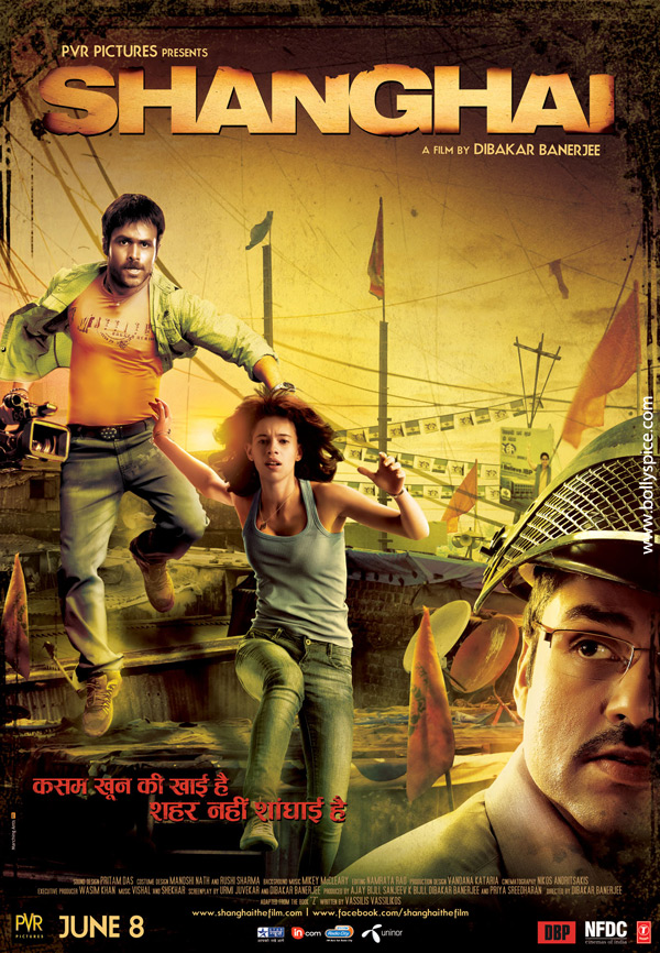 12may shanghai newposter Shanghai To have its World Premiere at IIFA on the 7th!