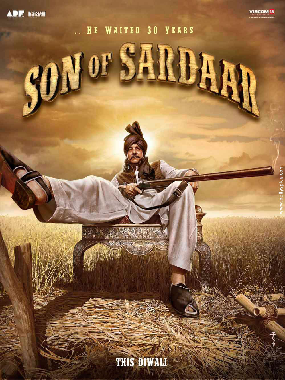 12may sonofsardar poster01 Posters for the movie Son of Sardar released!