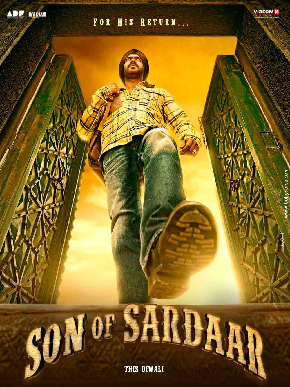 12may sonofsardar poster02 Posters for the movie Son of Sardar released!