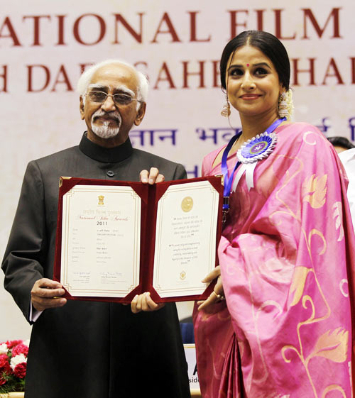 12may vidya nationalaward National Award for Vidya