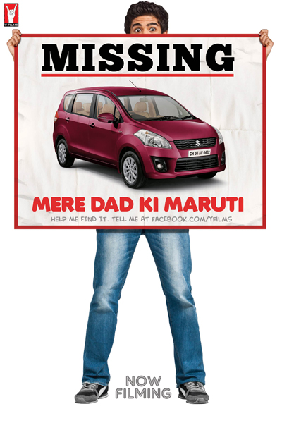 MERE DAD KI MARUTI Y Films' 3rd Film 'Mere Dad Ki Maruti'  Hits The Road and the floor!!