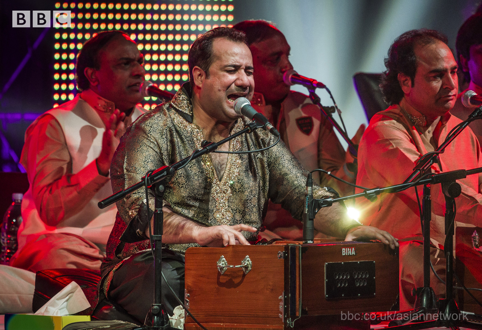 Rahat Fateh Ali Khan BBC Asian Network presents 'Asian Music Stars' on BBC Red Button