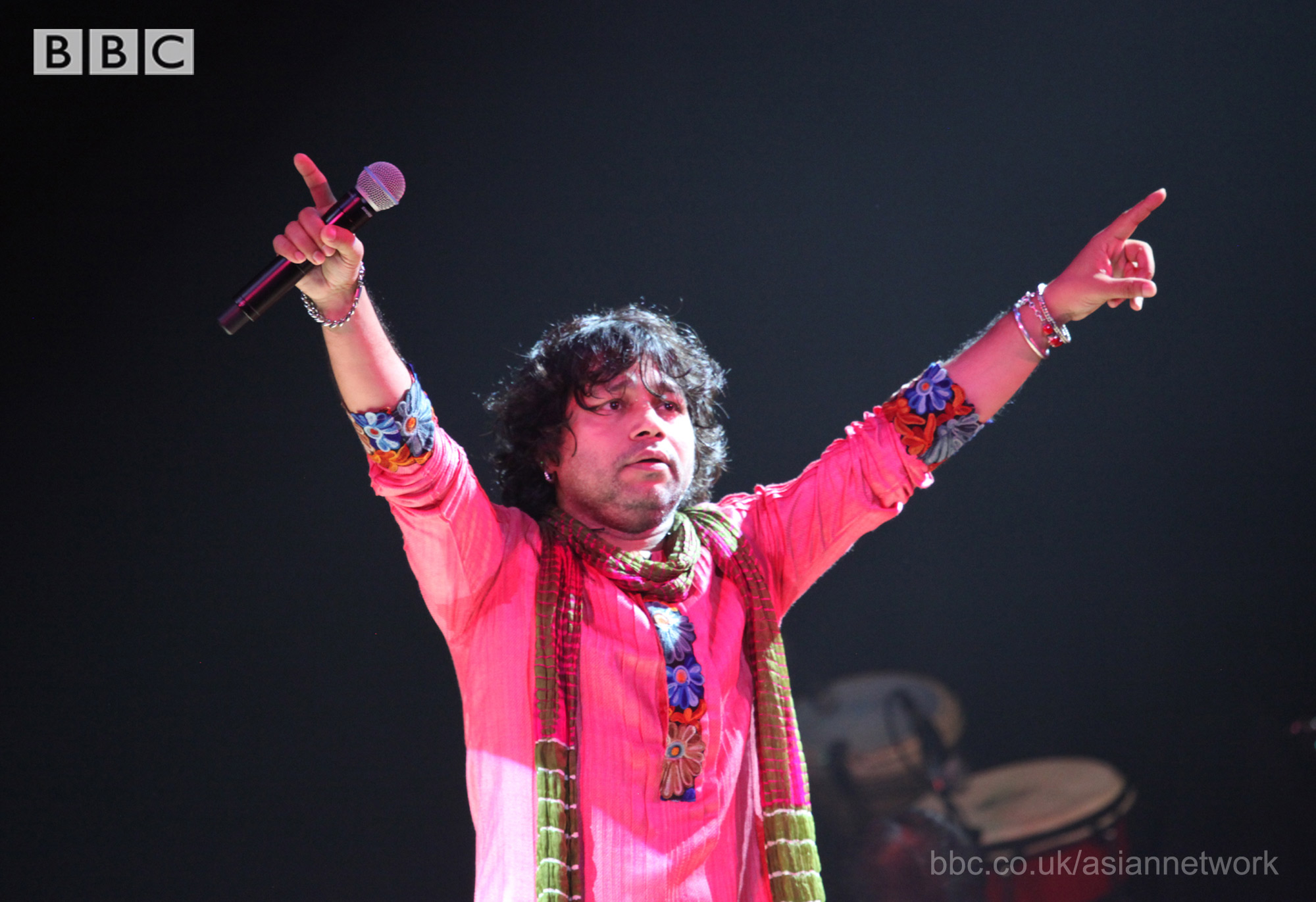 kailash kher BBC Asian Network presents 'Asian Music Stars' on BBC Red Button