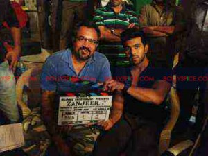 "zanjeer02 300x225 ""Zanjeer is a tribute to Mr. Bachchan and my father (legendary actor Chiranjeevi)"" – Ram Charan"
