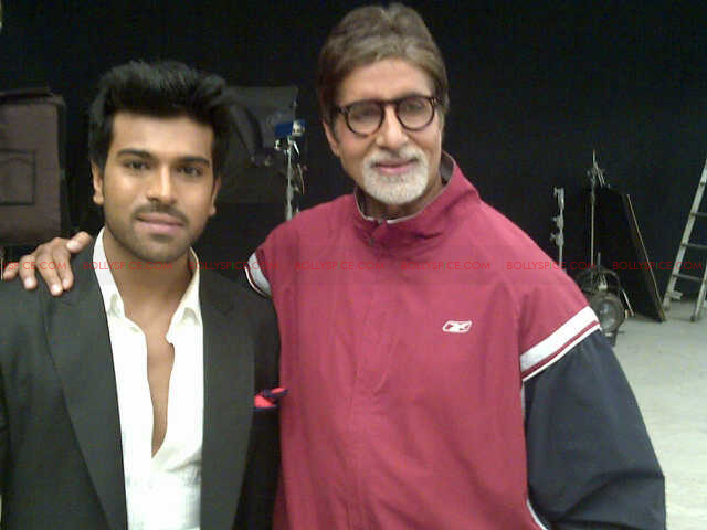 "zanjeerbig01 ""Zanjeer is a tribute to Mr. Bachchan and my father (legendary actor Chiranjeevi)"" – Ram Charan"