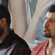 12jun AmyVikram Thaandavam03 185x185 Vikram & Amy Jackson at Thaandavam press meet in London