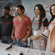 12jun AmyVikram Thaandavam05 185x185 Vikram & Amy Jackson at Thaandavam press meet in London