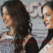 12jun AmyVikram Thaandavam06 185x185 Vikram & Amy Jackson at Thaandavam press meet in London