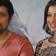 12jun AmyVikram Thaandavam07 185x185 Vikram & Amy Jackson at Thaandavam press meet in London