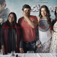 12jun AmyVikram Thaandavam14 185x185 Vikram & Amy Jackson at Thaandavam press meet in London