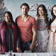 12jun AmyVikram Thaandavam15 185x185 Vikram & Amy Jackson at Thaandavam press meet in London