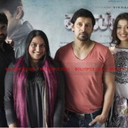 12jun AmyVikram Thaandavam16 185x185 Vikram & Amy Jackson at Thaandavam press meet in London