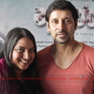 12jun AmyVikram Thaandavam17 185x185 Vikram & Amy Jackson at Thaandavam press meet in London
