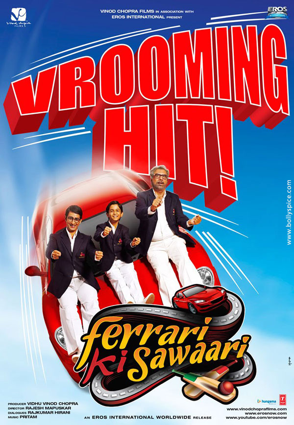 12jun FKS 25croreworldwide Ferrari Ki Sawaaris opening weekend collection grosses Rs. 25 crore worldwide