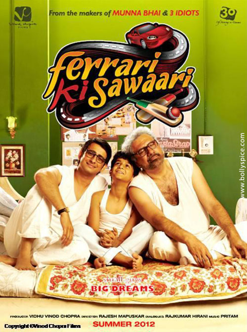 12jun FKS moviereview Ferrari Ki Sawaari Movie Review
