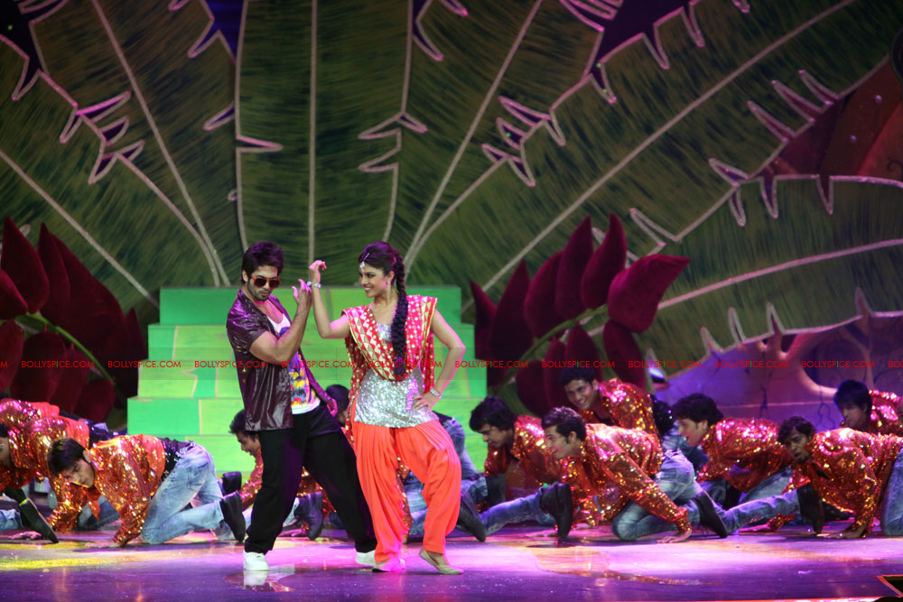 12jun SKPC performanceIIFA04 In Pictures: Shahid Kapoor and Priyanka Chopra perform at IIFA!