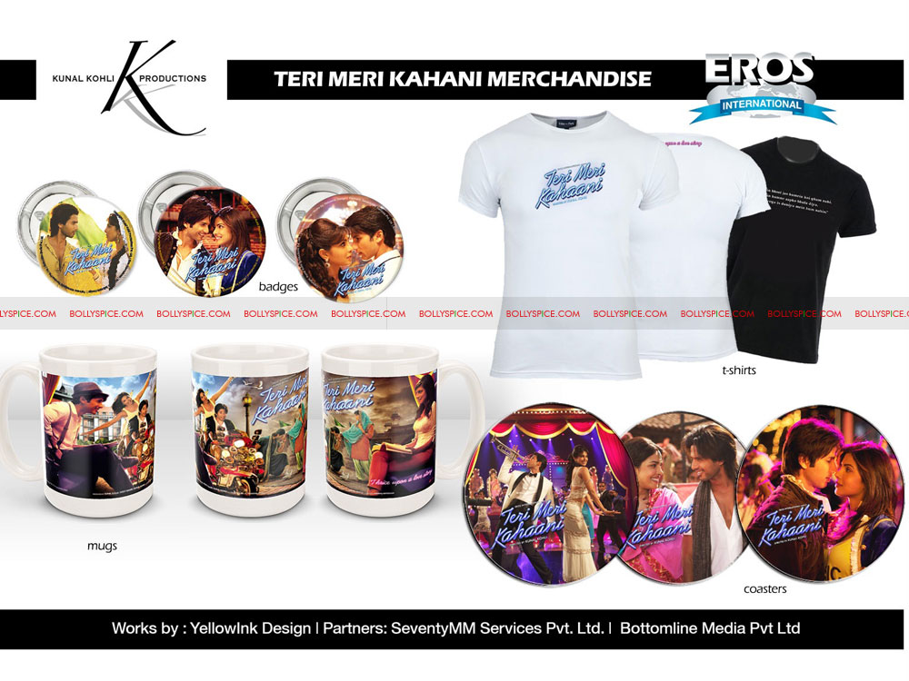 12jun TMK merchandise03 Tanaaz Bhatia and Bottomline Media Creating More Movie Merchandise Magic