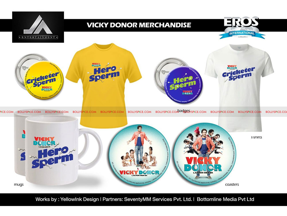 12jun VD merchandise04 Tanaaz Bhatia and Bottomline Media Creating More Movie Merchandise Magic