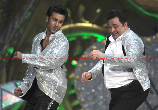 12jun kunal ranbir rishi IIFA02 Kunal Rawal styles father son duo at the IIFA Awards
