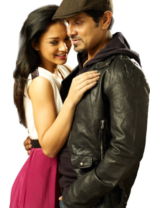 12jun thaandavam amyjackson vikram Amy Jackson shooting with Vikram for Thaandavam