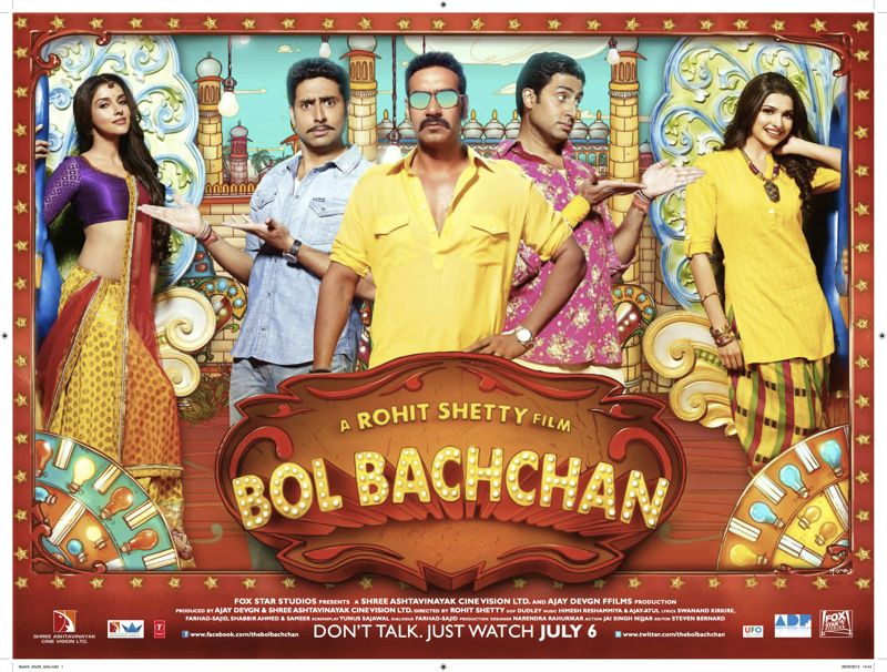 Bol Bachchan poster1 UK Readers you can win Bol Bachchan CDs!
