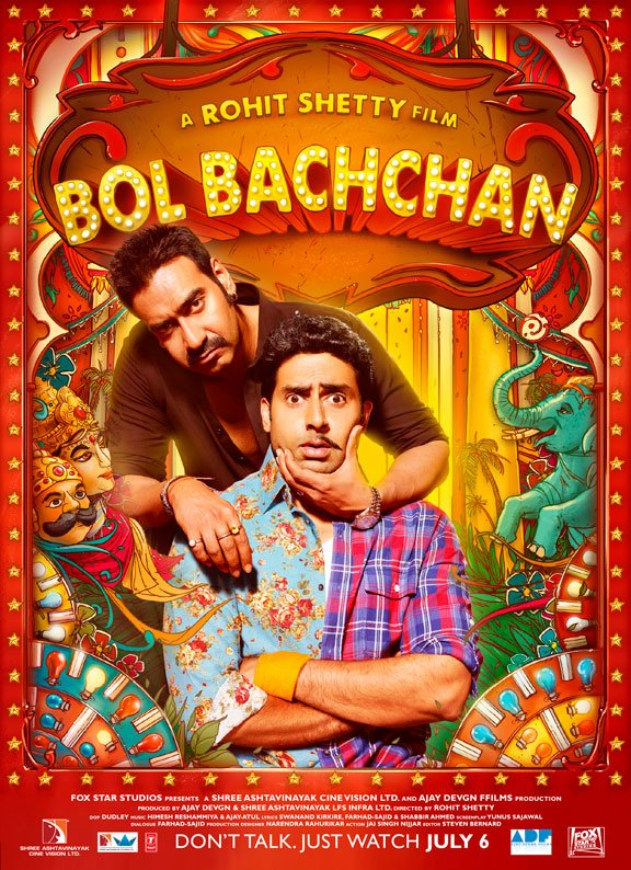 abhishek BB shirt05 NYC Readers! Win Tickets to a Special Advanced Bol Bachchan Screening!