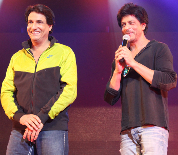 shaimak04 Shah Rukh and Shahid come out to support Shiamak Davars annual dance show Summer Funk