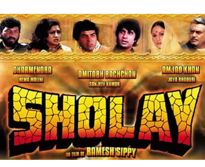 sholay in 3D The magic of Sholay coming to 3D in August!