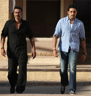 07jul ajayinterview01 With Bol Bachchan, we will be providing 100 plus per cent entertainment!   Ajay Devgn